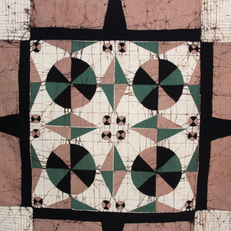 Rose-Beige Square Tablecloth